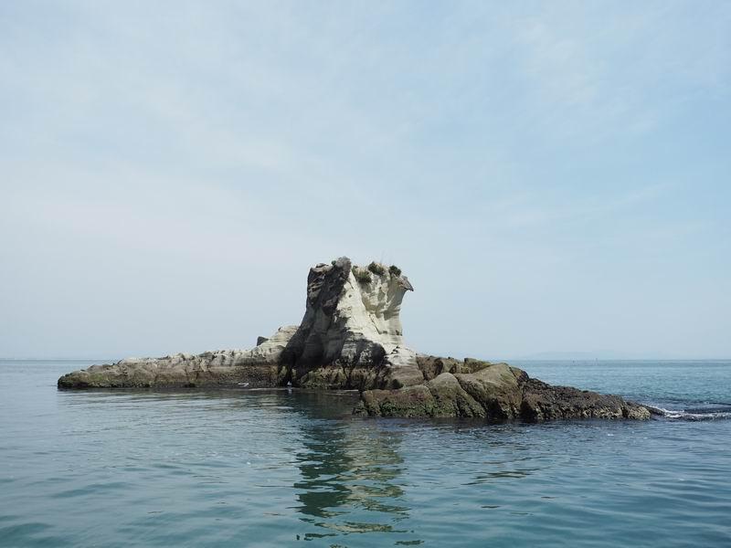嵯峨渓遊覧船からの風景1