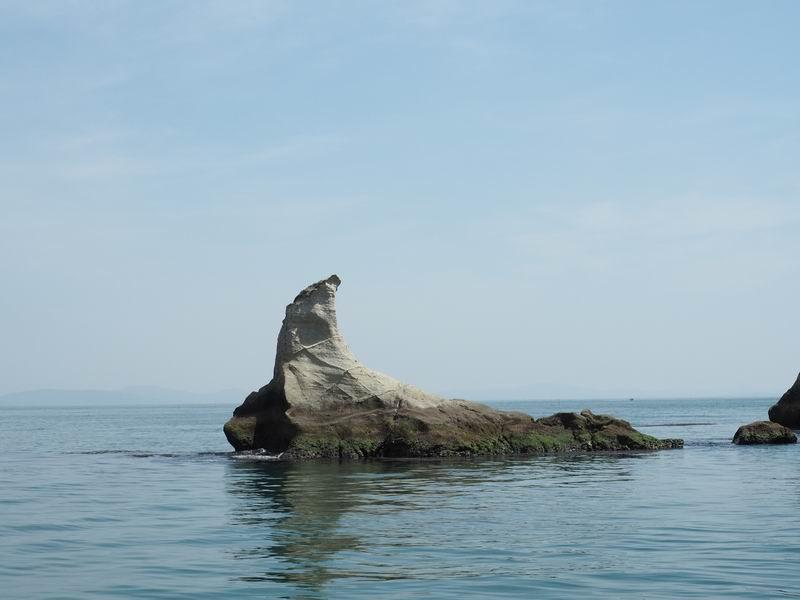 嵯峨渓遊覧船からの風景3
