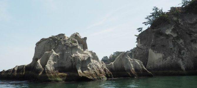 嵯峨渓遊覧船からの風景5