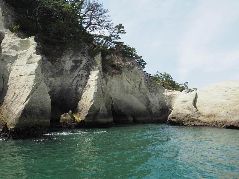 嵯峨渓遊覧船からの風景8
