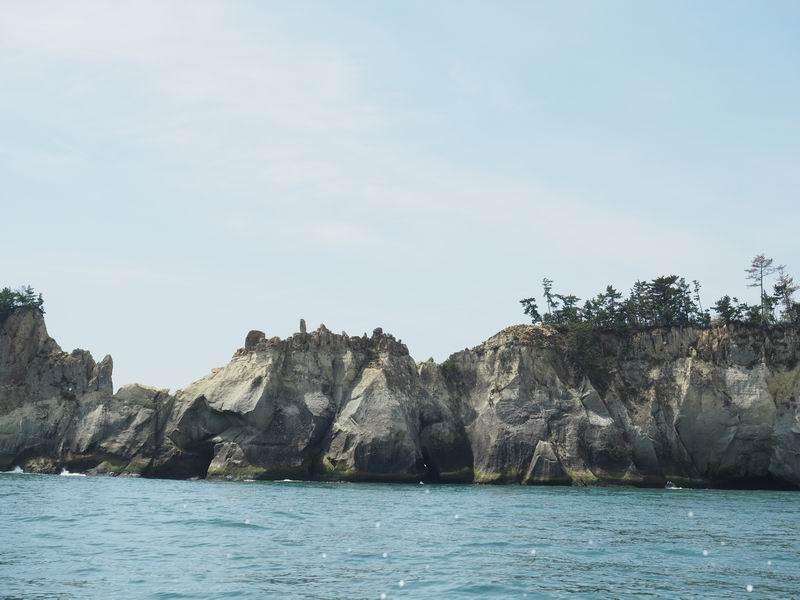 嵯峨渓遊覧船からの風景13