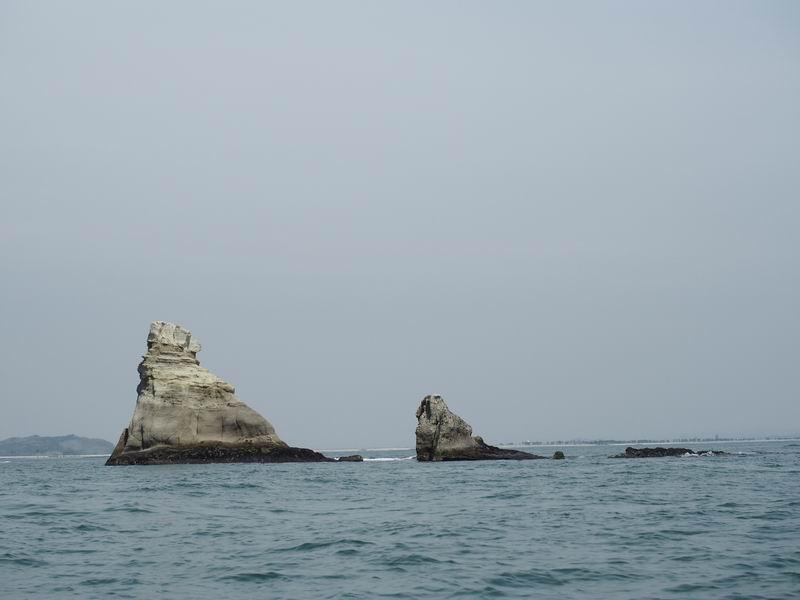 嵯峨渓遊覧船からの風景14