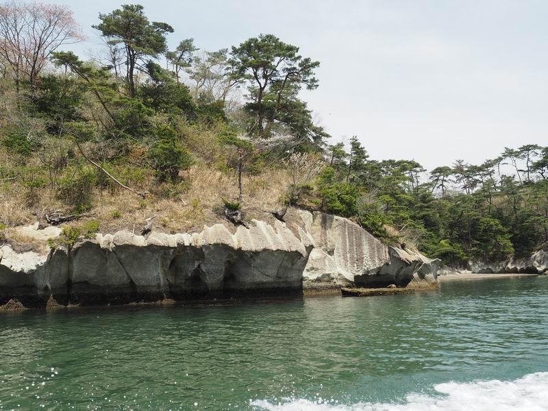 嵯峨渓遊覧船からの風景15