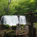 奥入瀬渓流調子の滝の写真