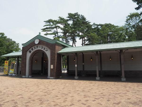 宮沢賢治童話村の入場ゲートの風景写真