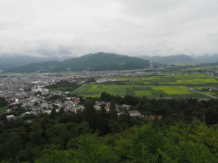 恋人の聖地花咲山展望台から見た風景写真