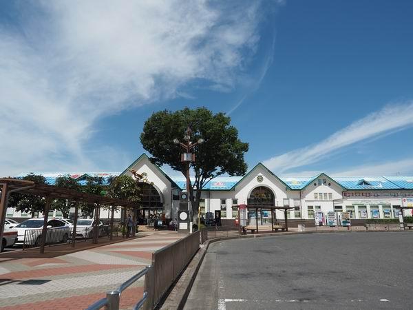 石巻駅の全景写真の風景