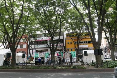 仙台ジャズフェス定禅寺通りのステージ風景写真