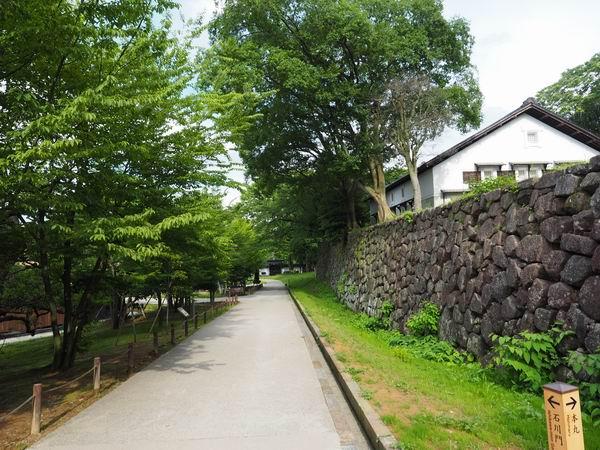 金沢城址公園の風景写真