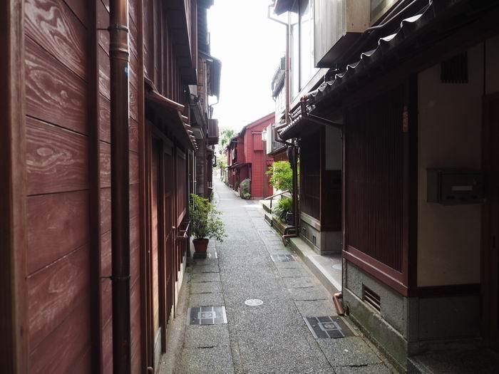 主計町茶屋街の風景写真