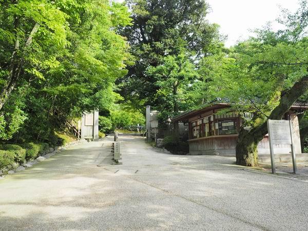 兼六園桂坂の料金所の風景写真