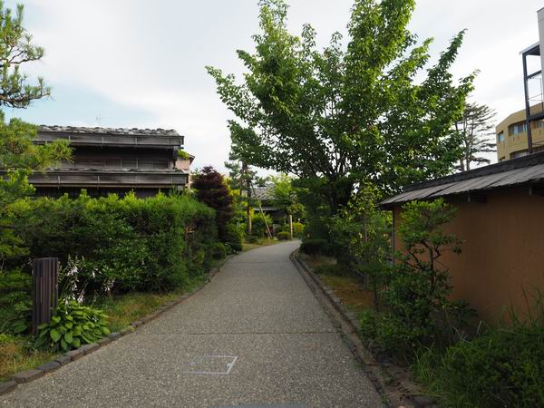 長町武家屋敷の風景足軽屋敷