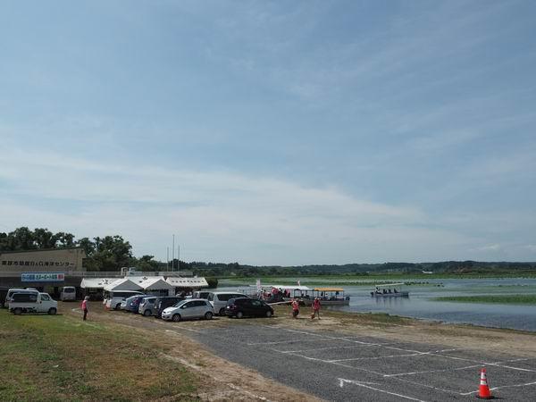 内沼遊覧船乗り場の風景写真