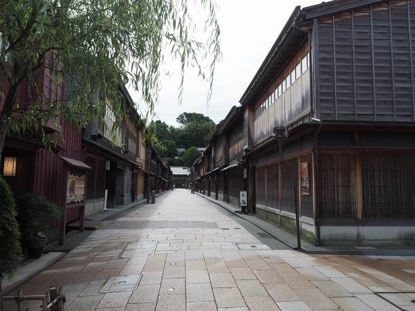 ひがし茶屋街の風景写真