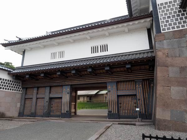 金沢城の橋爪門の風景写真