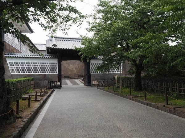 石川門の入場門の風景写真