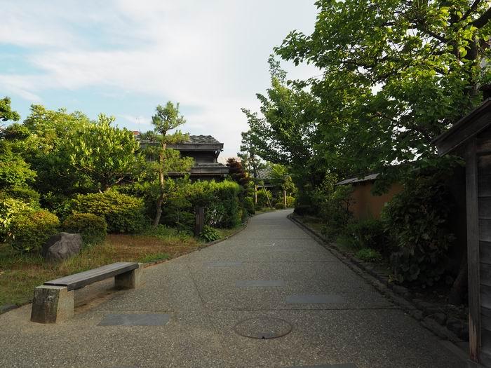 長町武家屋敷足軽長屋の風景写真