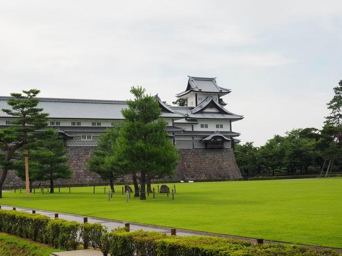 金沢城の菱櫓の写真