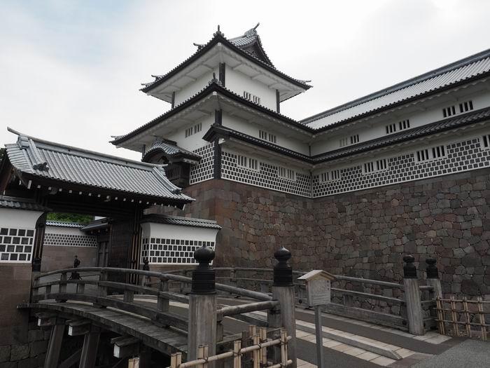 金沢城址公園橋爪門の風景写真