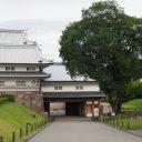 金沢城の門の風景