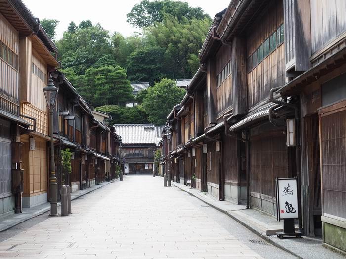 金沢観光ひがし茶屋街の風景写真