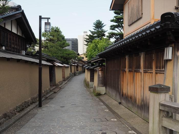 金沢長町武家屋敷の夏の風景写真
