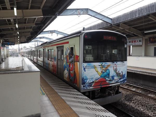 JR仙石線の電車の風景