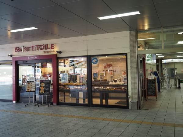 長町駅のパンとカフェのお店サンエトワールのお店の写真