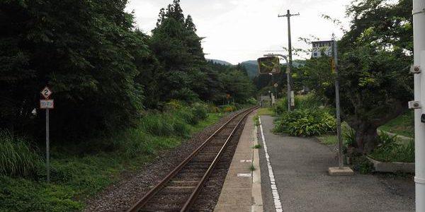 中山平温泉駅の風景写真