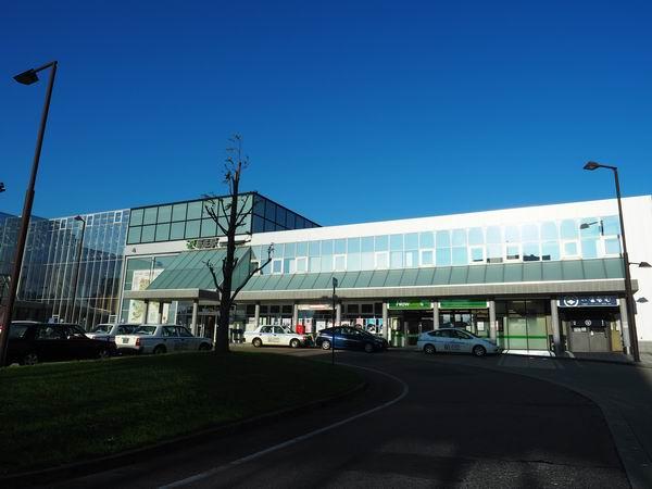 JR新庄駅の全景写真