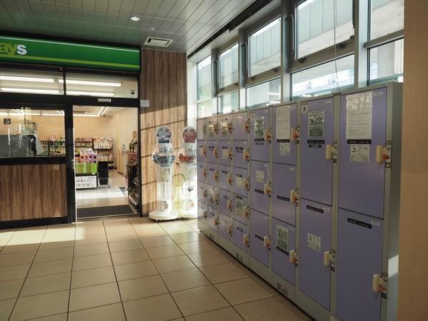 新庄駅のコインロッカーの設置上のの写真2