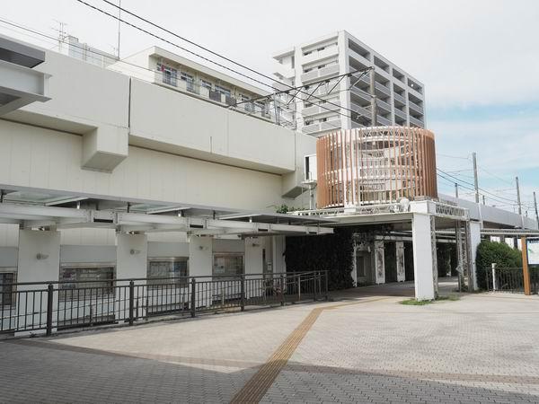 本塩釜駅のマリンゲート口の風景写真