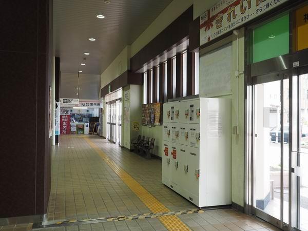 本塩釜駅のコインロッカーの場所の写真