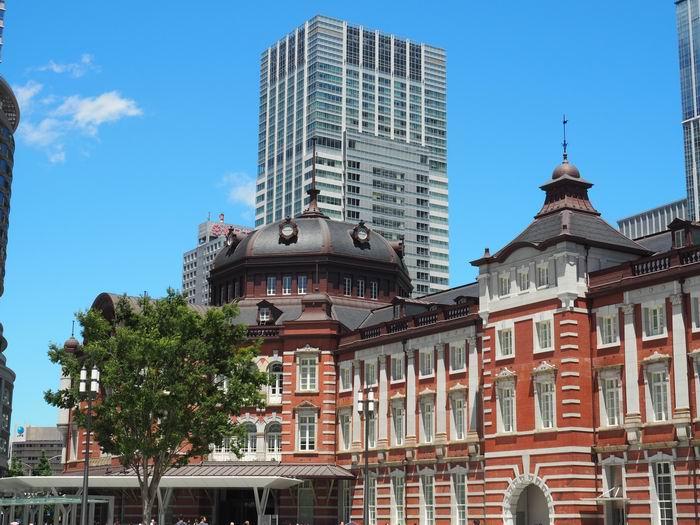 東京駅丸の内南口ドームの風景写真