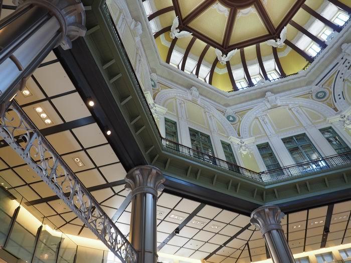 東京駅丸の内南口童夢の天井の風景写真