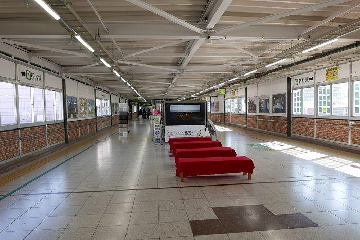 福島駅の待ち合わせ場所東西連絡橋のおすすめ場所