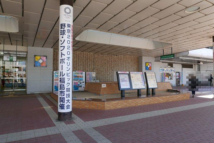 福島駅の待ち合わせ場所西口の場所の写真