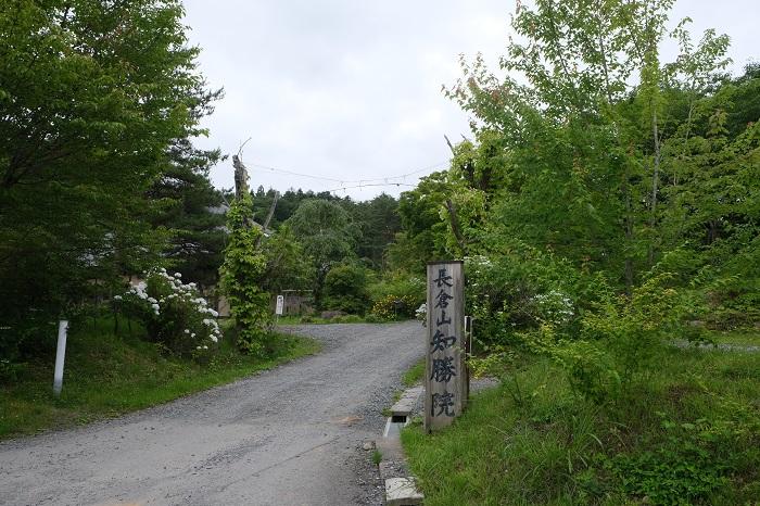 知勝院一関の入り口の風景写真