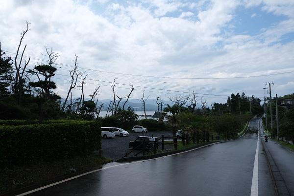 龍舞崎(たつまいざき)の駐車場の風景写真