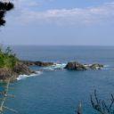 気仙沼大島の龍舞崎(たつまいざき)の風景写真