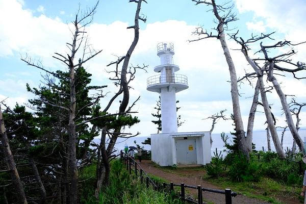 龍舞崎(たつまいざき)観光の景色(灯台)の写真